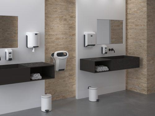 Découvrez notre collection complète Cleanline blanc de produits d hygiène pour sanitaires