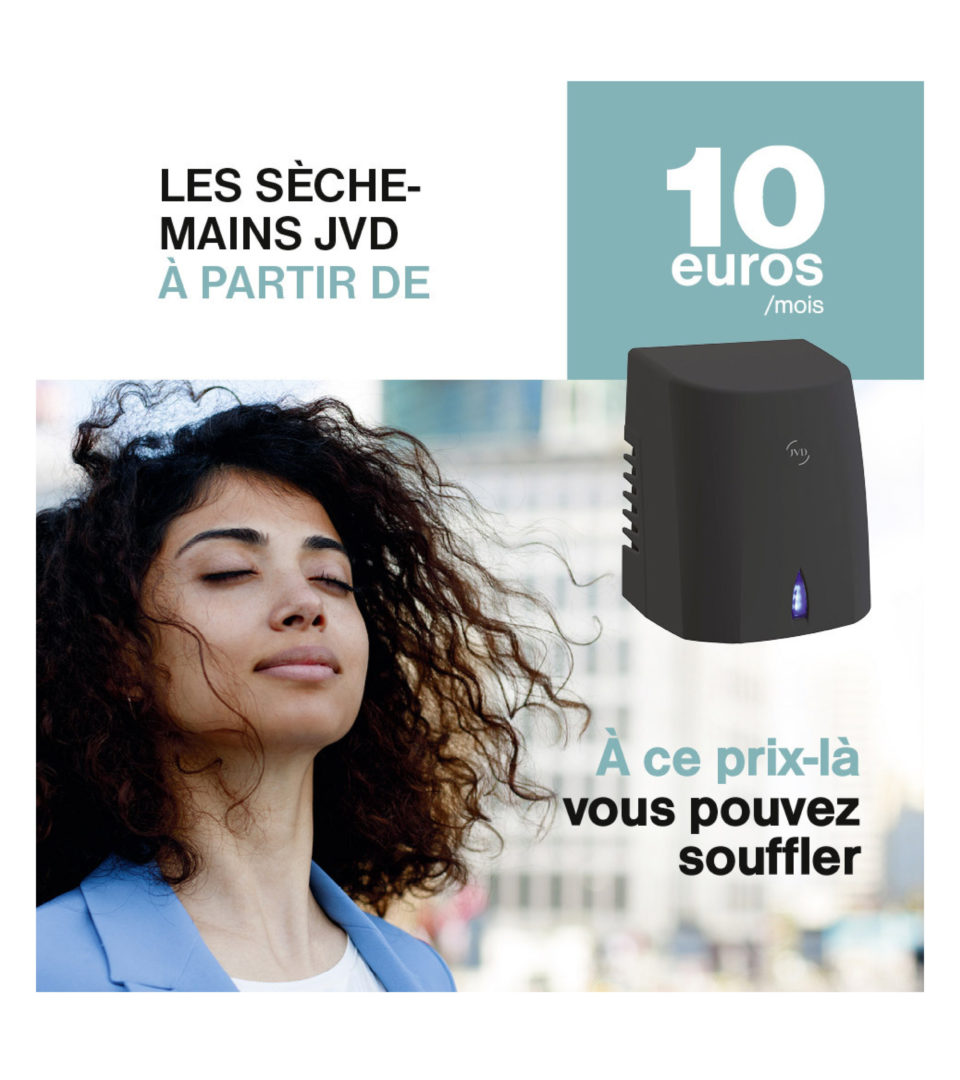 Location seche mains JVD