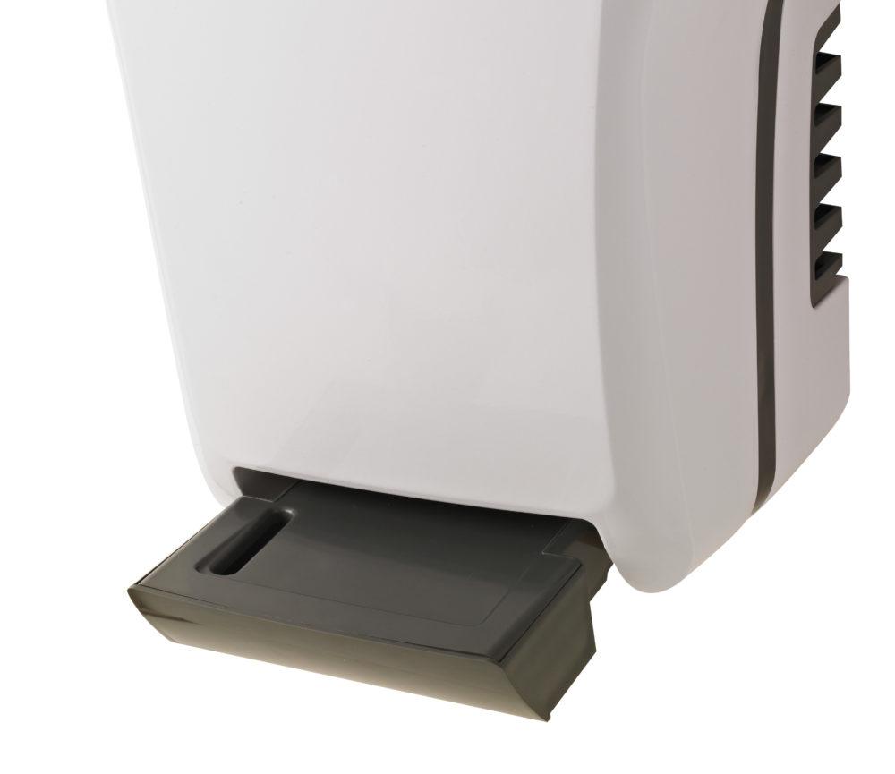 EXP'AIR Händetrockner Druckluft, Alu Epoxid, metallgrau