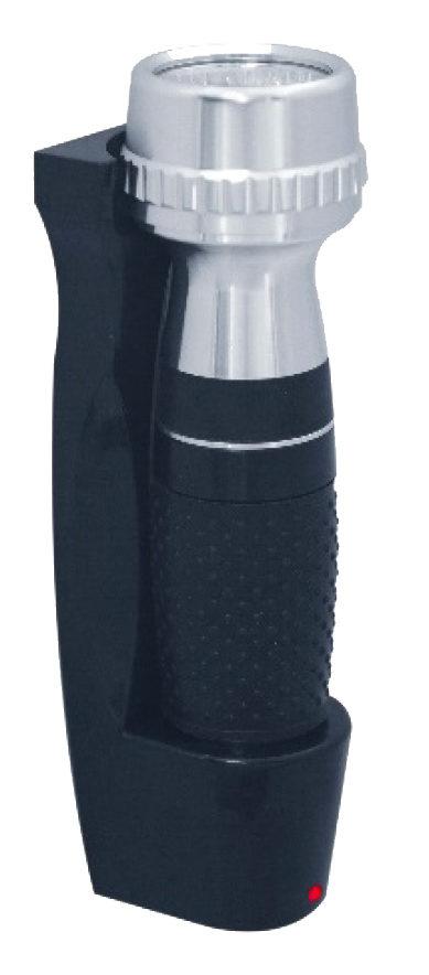 Installierbare Taschenlampe BRILLIANCE FLASHLIGHT schwarz