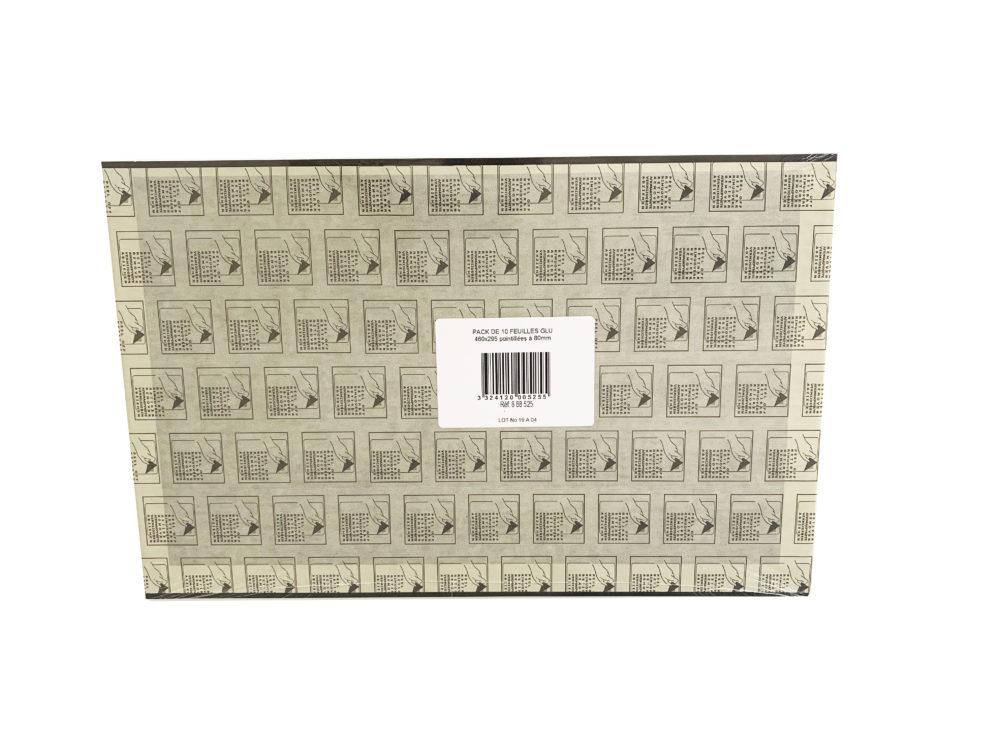 PACK 10 Hojas de pegamento negro 460×295.