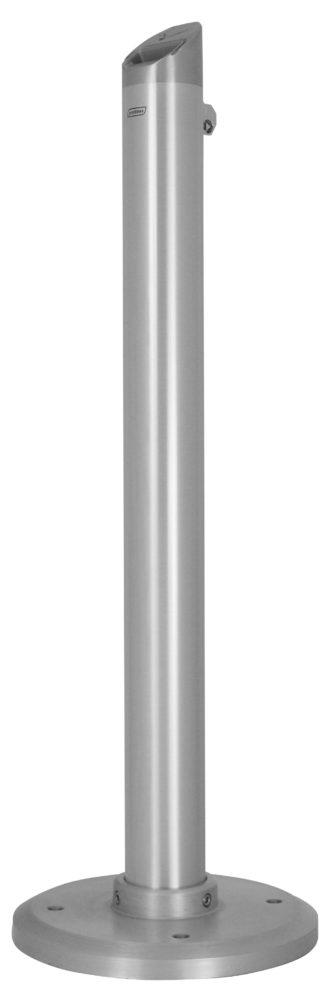Ashtray TOTEM tubular aluminium 4.5L on stand