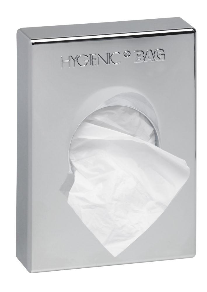 SANIBOX distri. sachets hygièniques chromé