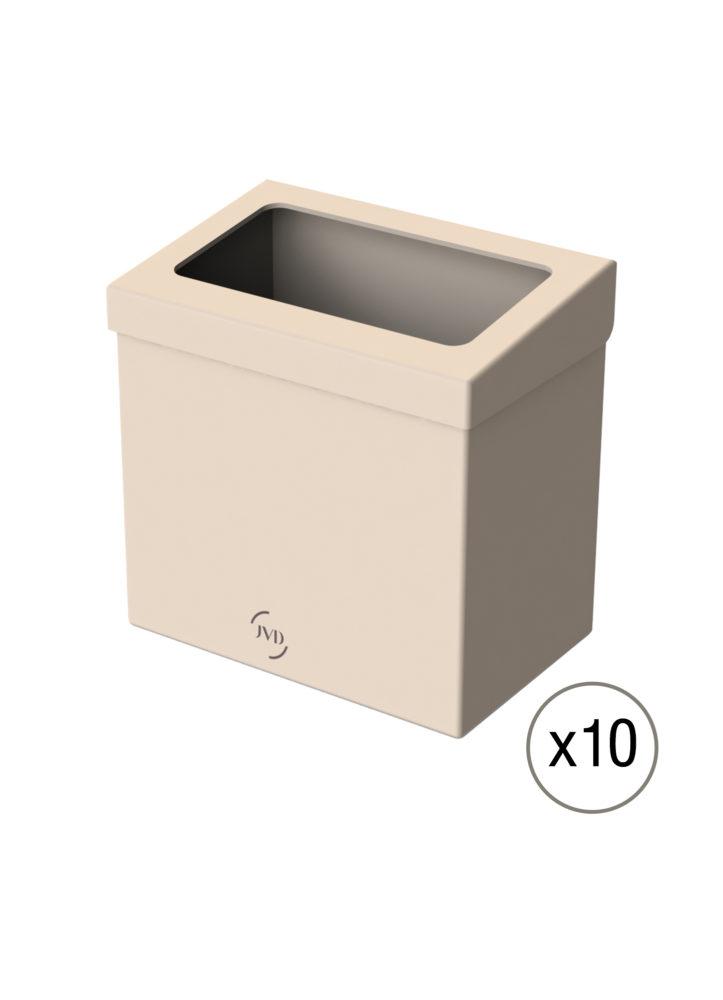 Kit 10 Poubelles Carton bureau