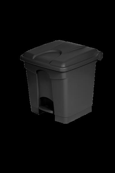 Container 30L noir plastique recyclé