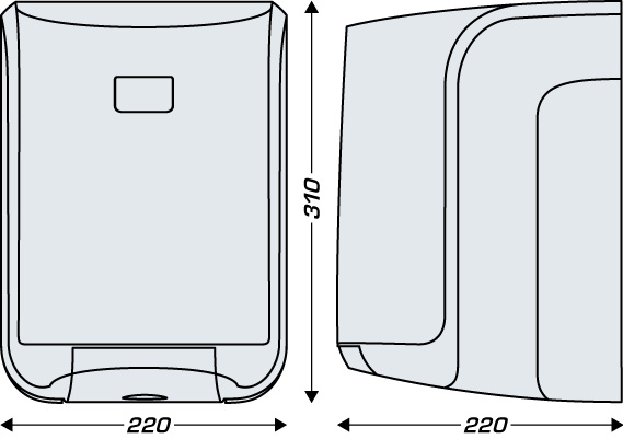 Dozownik JVD do ręczników w roli MIDI